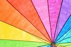 Tęczy lata Barwiony parasol Obrazy Royalty Free