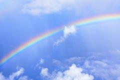 tęczy niebo Obraz Royalty Free