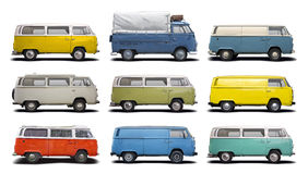 T2 das camionetes da VW Fotografia de Stock Royalty Free