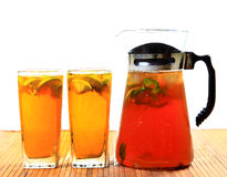 Té de hielo del limón Fotos de archivo