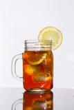 Té de hielo del limón Fotografía de archivo libre de regalías