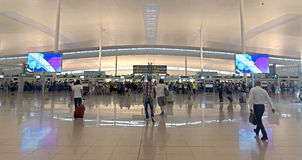T1 de terminal d'aéroport d'EL Couillon-Barcelone Photographie stock libre de droits