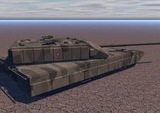 T2 del carro armato (deserto) Immagine Stock Libera da Diritti
