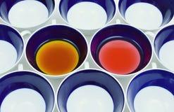 T del tè e del nero della bacca Immagini Stock Libere da Diritti
