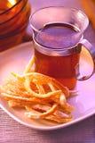 Tè della frutta Fotografie Stock Libere da Diritti