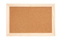 tła deski korka tekstura Zdjęcie Stock