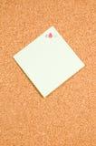 tła deski pusty notatki biel Obraz Stock