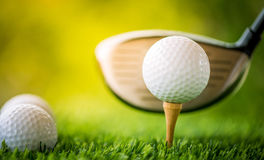 T di golf fuori Fotografia Stock Libera da Diritti
