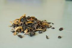 Tè di Oolong dell'a fogli staccabili Immagini Stock