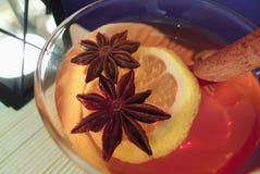 T do Natal do inverno com limão Foto de Stock Royalty Free