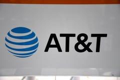AT&T dostawca internetu Fotografia Stock