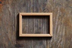 tła drewniany pusty ramowy Fotografia Stock