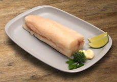 tła drewniany rybi surowy Obraz Royalty Free