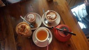 t? e caff? fotografie stock