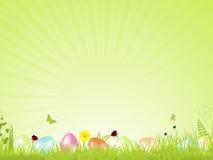 tła Easter zielony spokojny Fotografia Royalty Free