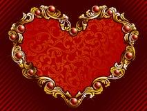 tła elegancki rubinów valentine Zdjęcie Royalty Free