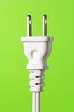 tła elektrycznej zieleni prymki pionowo biel Zdjęcia Royalty Free