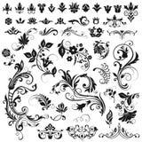 tła elementów graficzny liczb wektoru biel Obraz Royalty Free