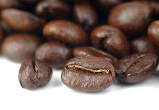 tła fasoli coffe Obraz Stock