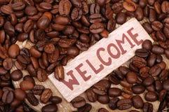 tła fasoli coffe Zdjęcie Royalty Free