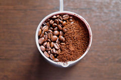 tła fasoli kawy ilustracja Obrazy Royalty Free