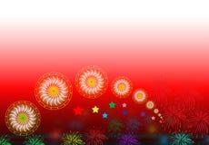 tła festiwalu rangoli Zdjęcie Royalty Free