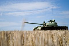 T-55 Royalty Free Stock Photography