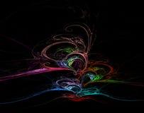 tła fractal Fotografia Stock