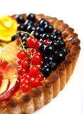 tła fruitcake smakowity biel Obrazy Royalty Free