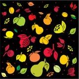 tła fruity jaskrawy Zdjęcie Royalty Free