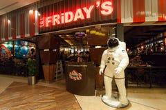 T g I Freitags Restaurant in Kuwait Lizenzfreies Stockfoto