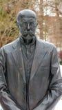 T g M-Statue Stockbild