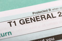 T1 general forms Stock Image