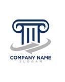 T-Gesetzesinitialen-Betriebsversicherungszusammenfassung stock abbildung