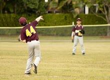 tła graczów baseballi sylwetki biel Fotografia Stock