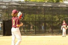 tła graczów baseballi sylwetki biel Obraz Royalty Free