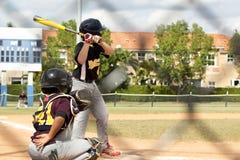 tła graczów baseballi sylwetki biel Obrazy Stock