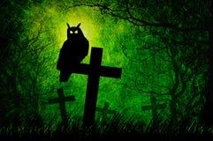 tła grunge Halloween noc Zdjęcie Royalty Free