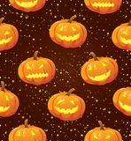 tła Halloween bania Obraz Royalty Free