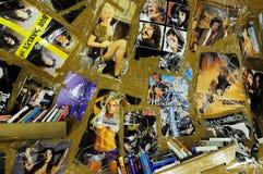 T. Hirschhorn - Cavemanman- in Guggenheim  Bilbao Royalty Free Stock Image