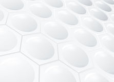 tła honeycomb biel Zdjęcia Stock