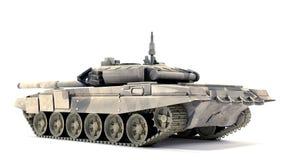 T-90 hoofdGevechtstank, op witte achtergrond Stock Afbeelding