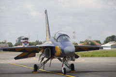 T50I attack jet trainer Stock Photos