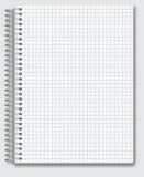 tła ilustracyjnego notatnika przedmiota realistyczny wektorowy biel Obraz Stock