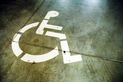 tła inwalidzki grunge znak Fotografia Royalty Free