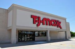 T.J. De opslag van Maxx in Longview Texas in 2012 Stock Fotografie