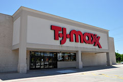T.J. Loja de Maxx em Longview Texas em 2012 Fotografia de Stock