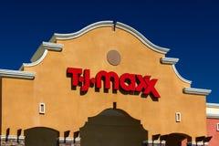 T J Maxx Retail Store Exterior Lizenzfreies Stockbild
