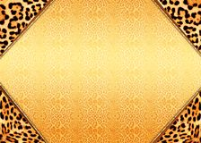 tła jaguara druk Obraz Royalty Free
