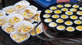 tła jajek omletu rozdrapany biel Obrazy Stock